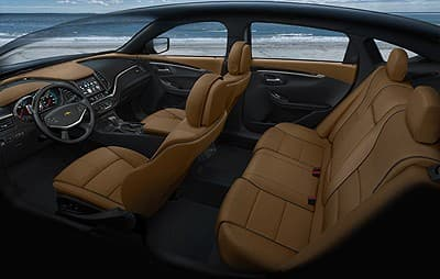 2014 Chevy Impala interior view (Image: General Motors)