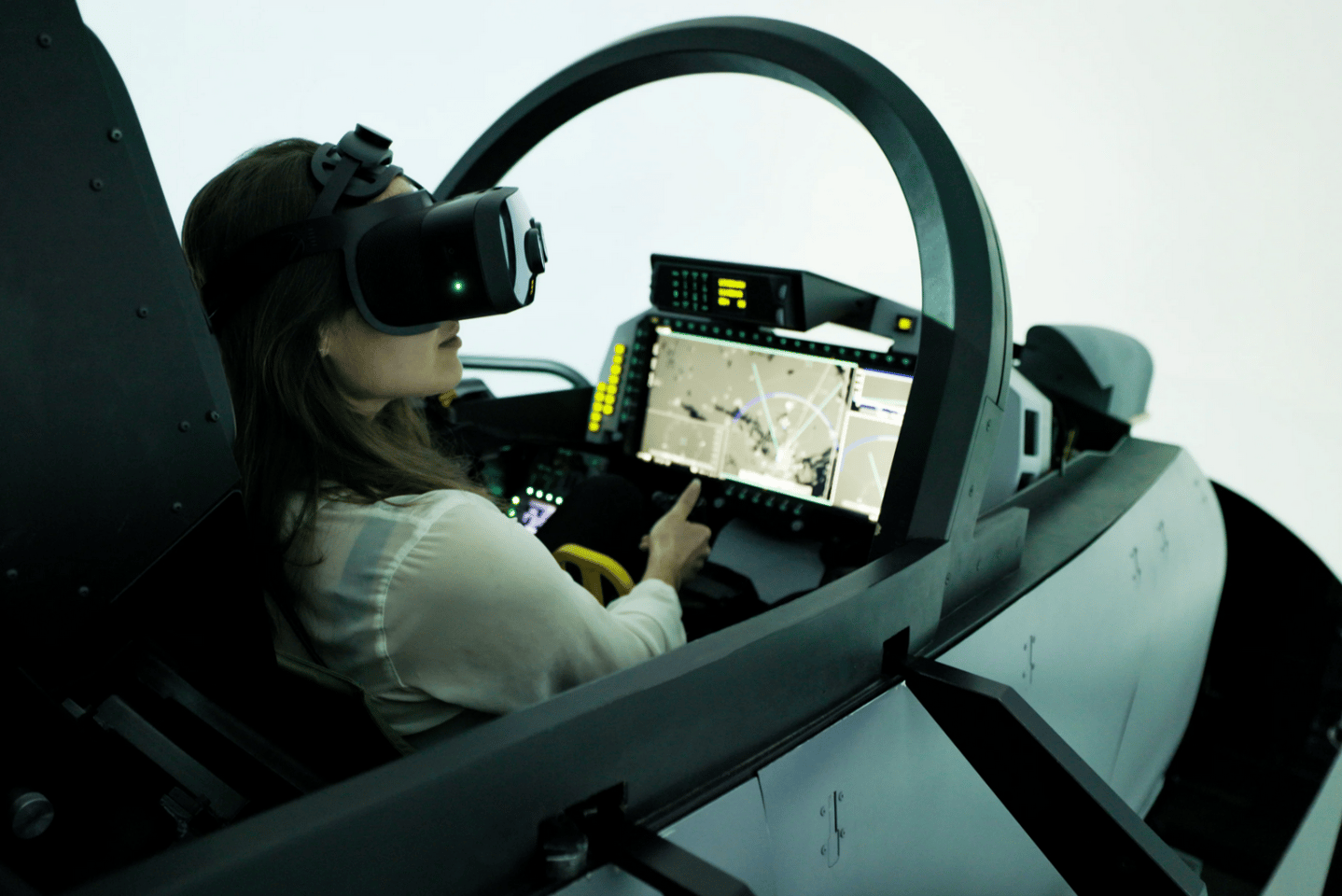 The Bionic Display allows high-resolution images to be generated for Saab's flight simulators using less computing power