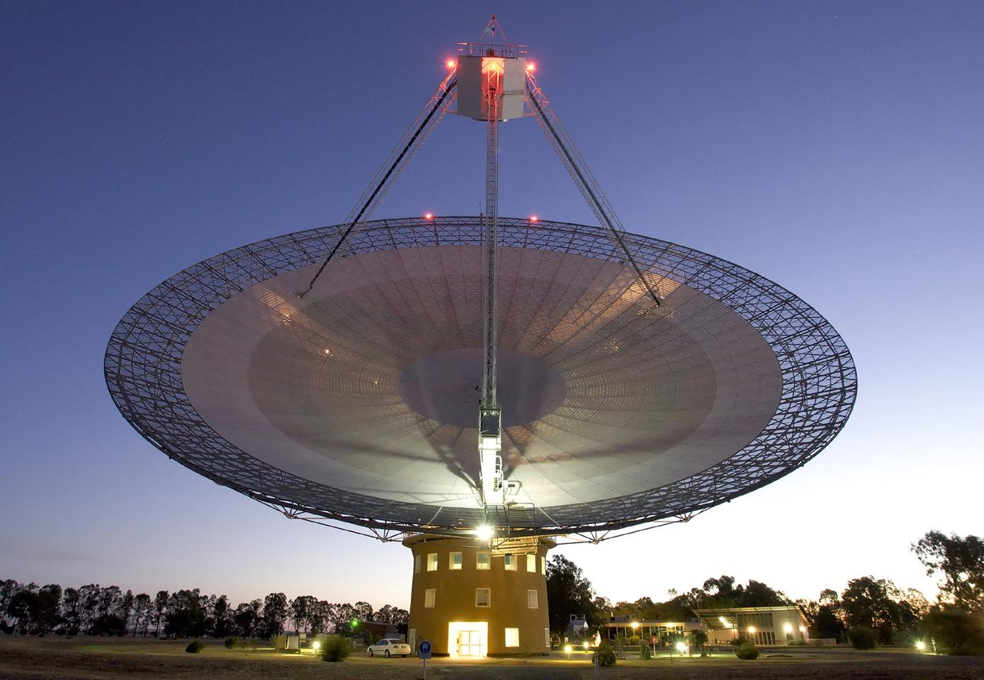 The Parkes Telescope located in Australia is just one of the assets that will be brought to bear in the ambitious new program