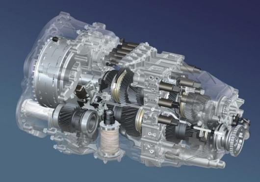 The 7-speed Dual Clutch Transmission (DCT) system