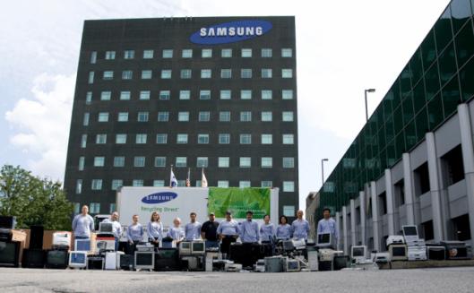 Samsung Recycling Direct program