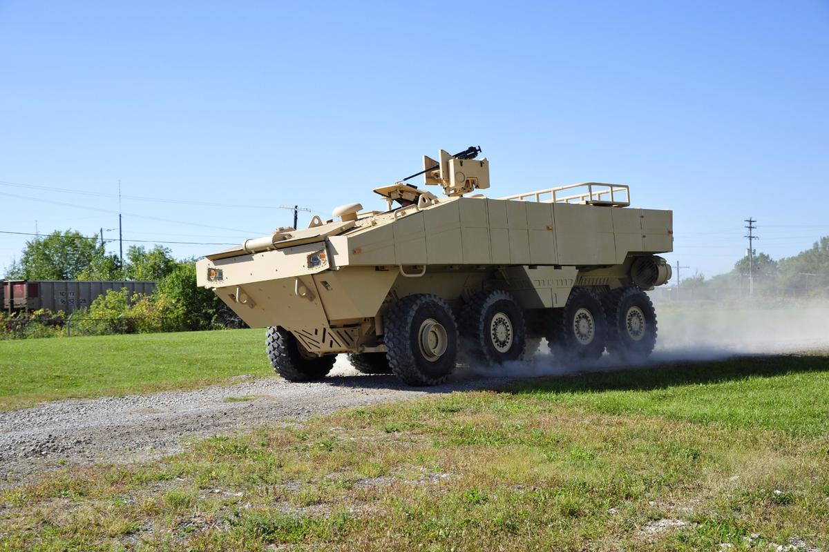 The ACV 1.1 is Lockheed's replacement candidate for the US Marine Corps amphibious vehicle fleet