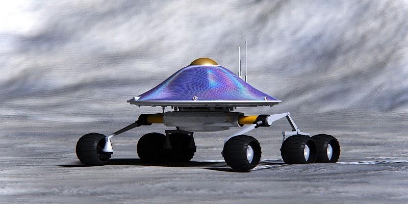 Barcelona Moon Team's lunar rover