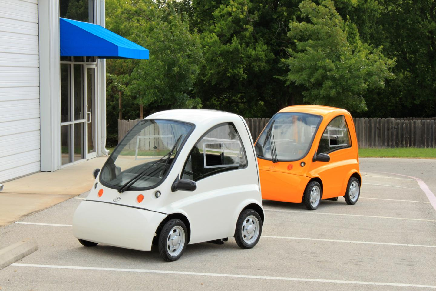 The Kenguru drive-from-wheelchair electric car