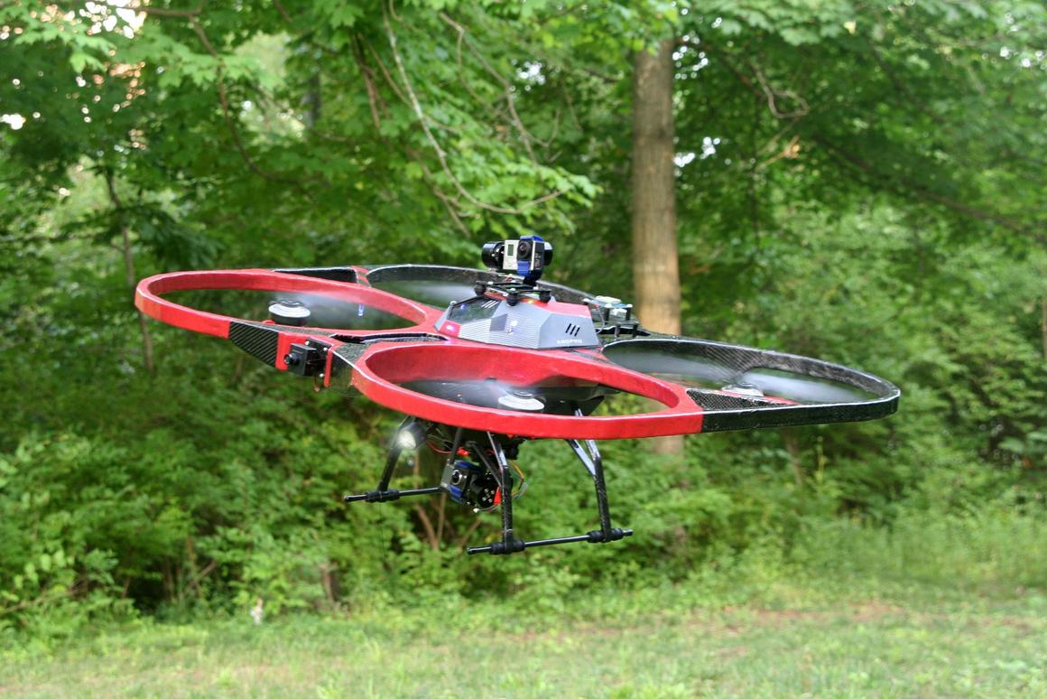 The KittyHawk drone is designed to be a big, stable, and safe flying platform