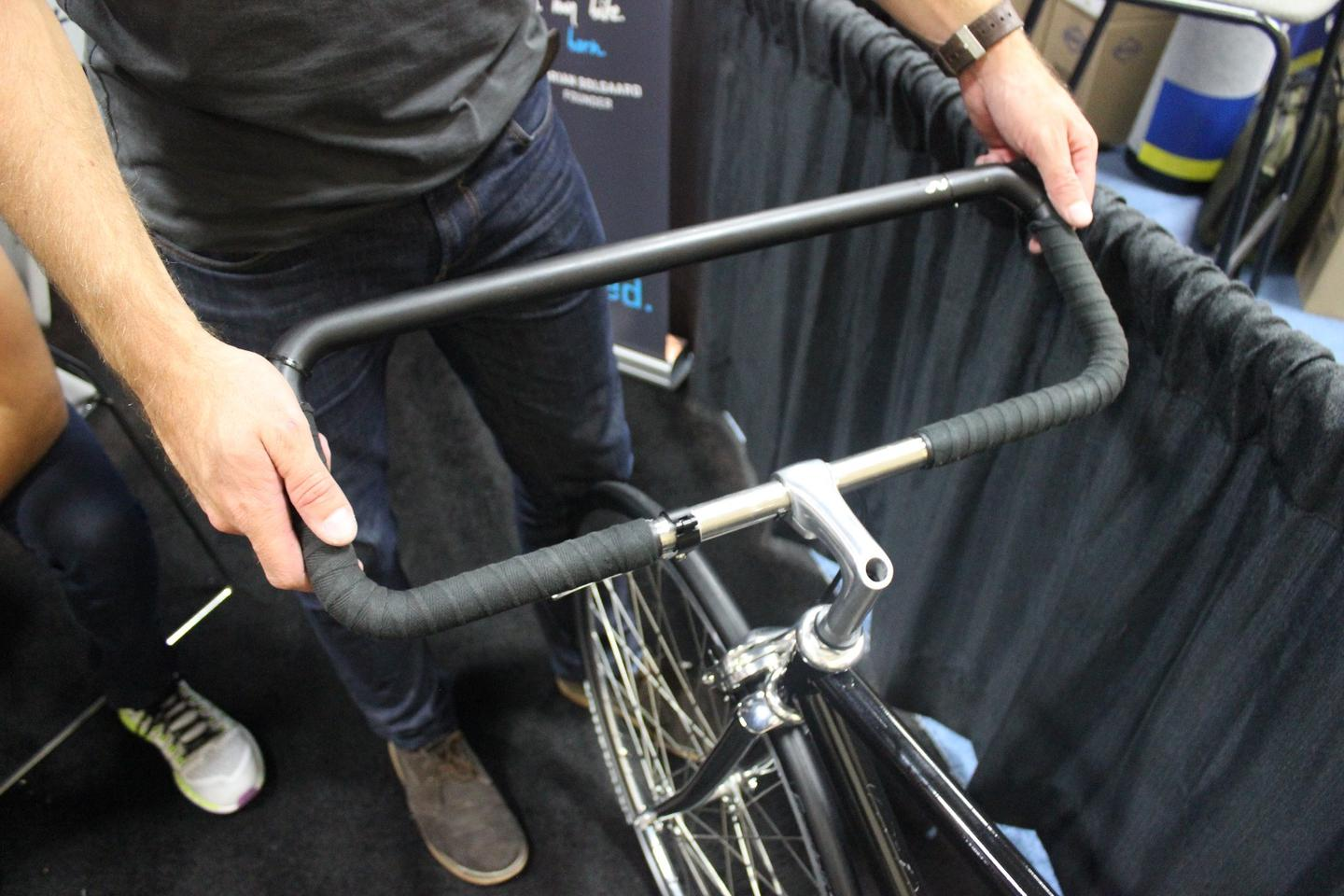 The firm outed the Denny Handlebar Lock at this year's Interbike