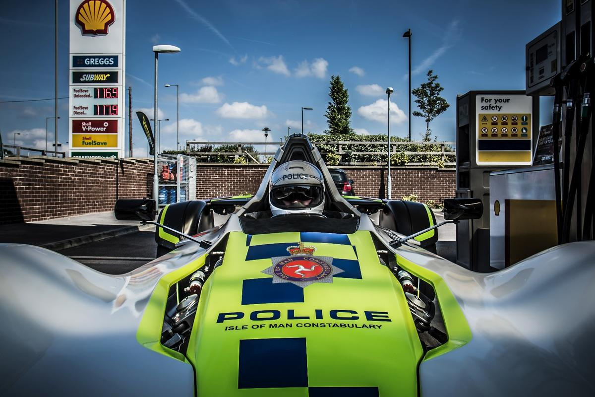 The Isle of Man Constabulary gets a new set of wheels