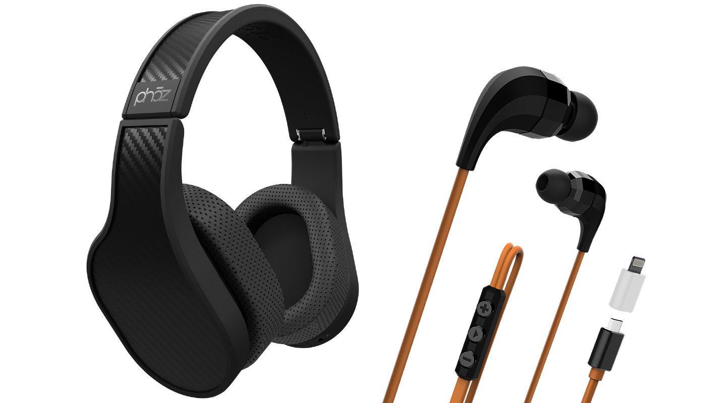 The Model P5 Digital Headphones and Model Z1 Digital Earphones