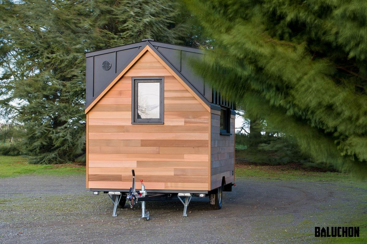 Tiny House Nano is based on a single-axle trailer