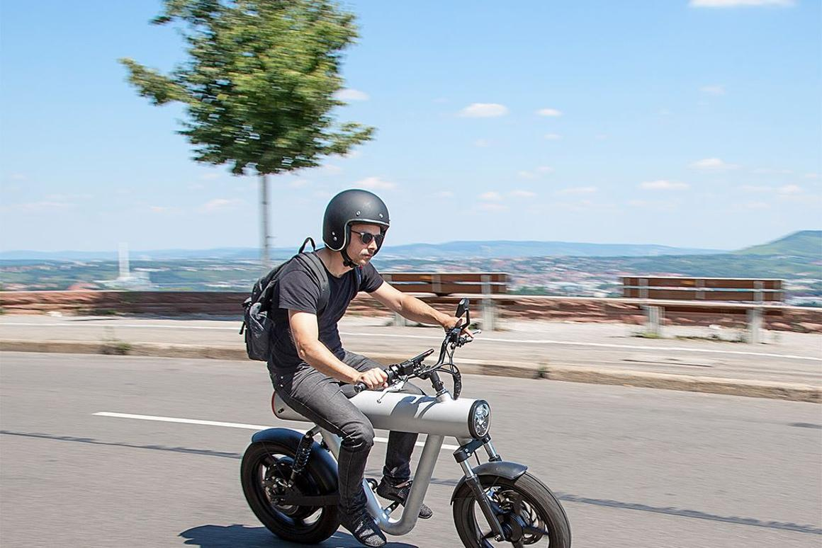 Something like an electric Grom, the Pocket Rocket is a humble, practical and clean e-commuter