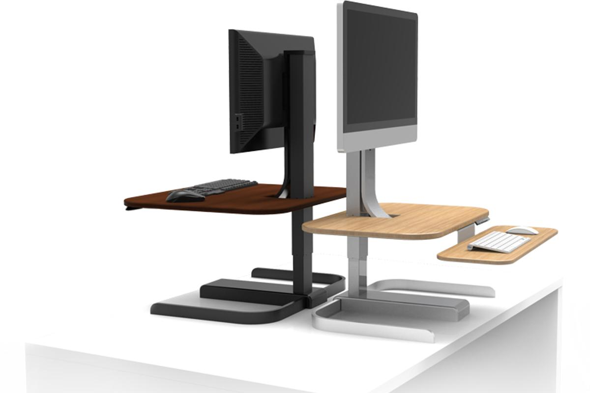 The CrossOver borrows something we've generally seen only up the swanky end of standing desk-town