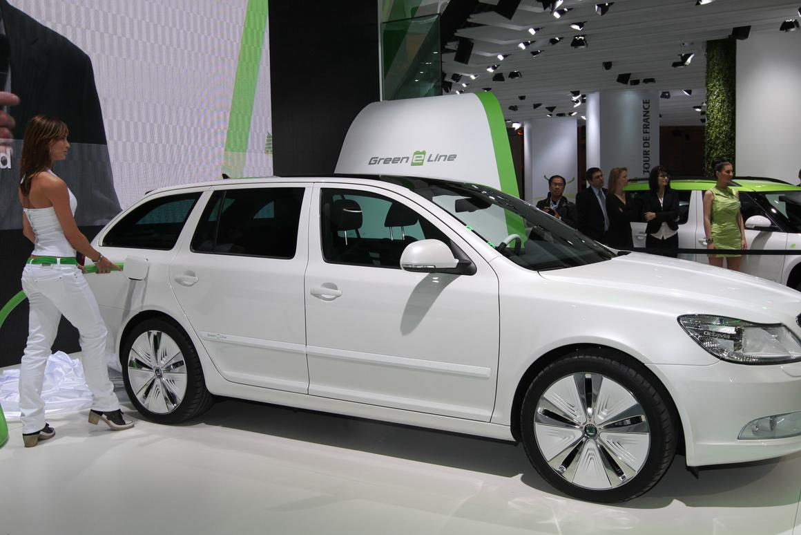 The Skoda Octavia Green E Line unveiled