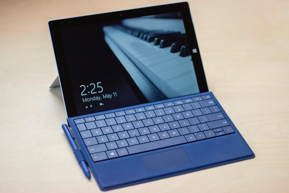 Gizmag reviews Microsoft's most well-balanced Surface yet, the Surface 3 (Photo: Will Shanklin/Gizmag.com)