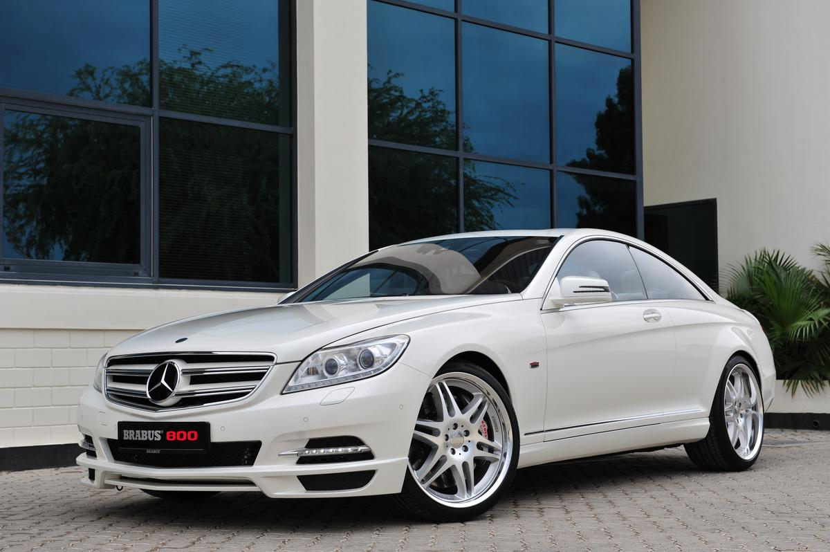 Brabus 800 Coupe - world's fastest and most powerful luxury coupe