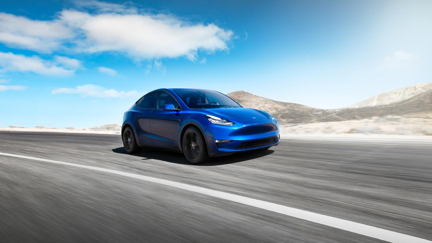 Tesla introduced its Model Y crossover at an event in LA today