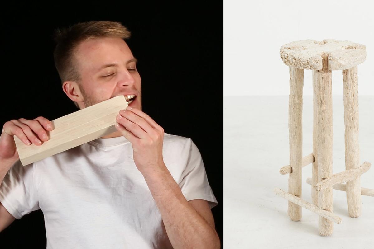 Nik Bentel chewed himself a stool. How was your weekend?