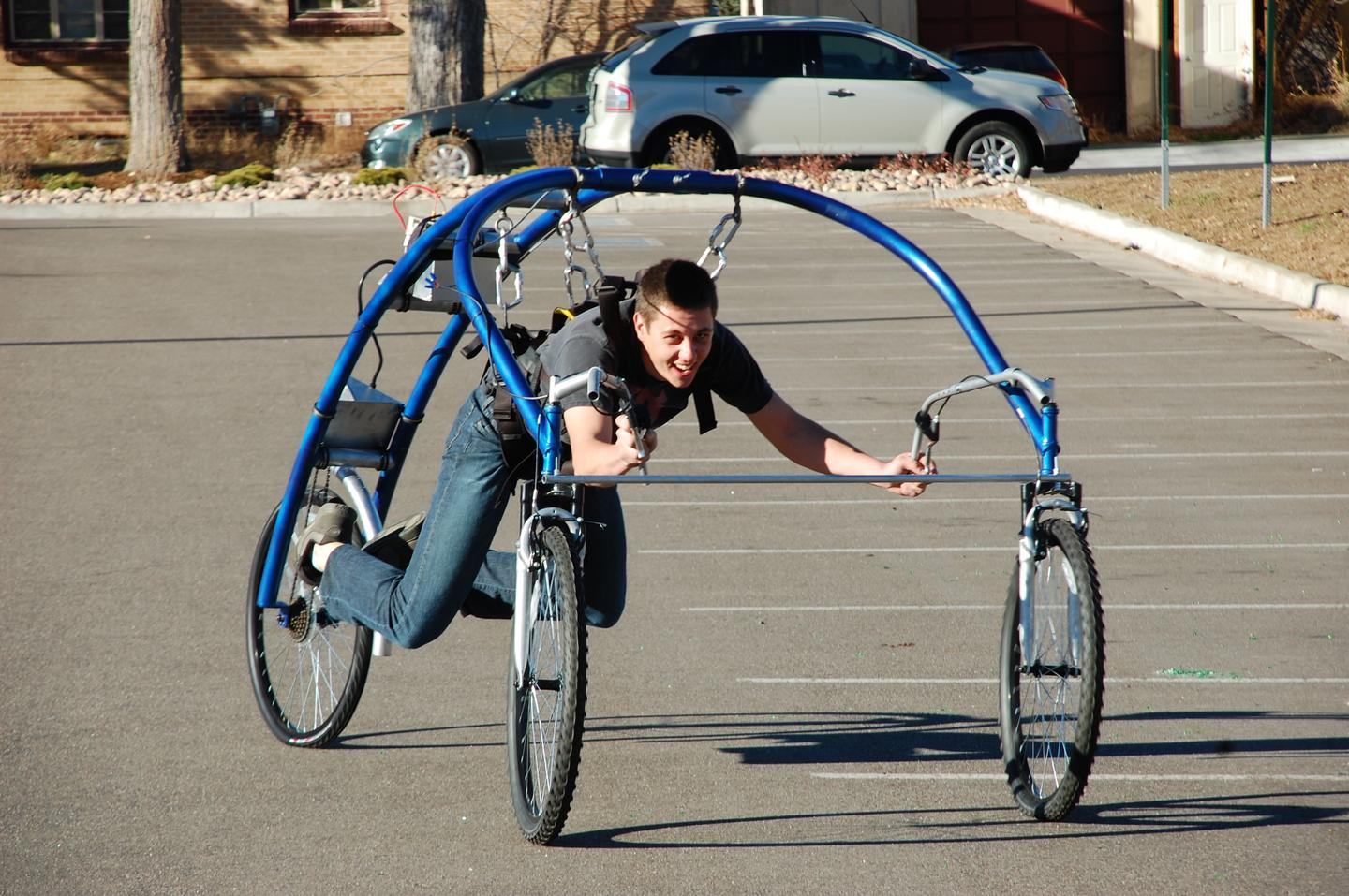 The E-Streetflyer is powered by a 750 W electric motor