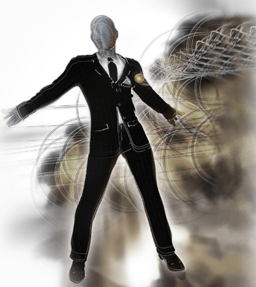 The Diamond Armor suit incorporates 880 black diamonds