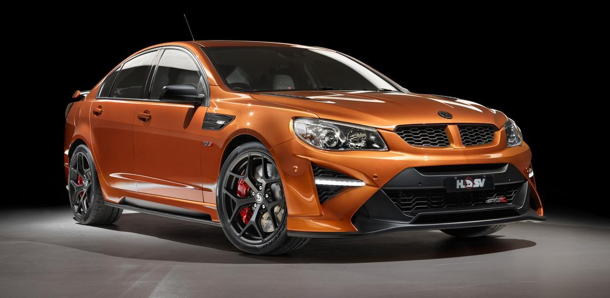 The HSV GTS-R W1 is powered by the LS9 V8 from the Corvette ZR1
