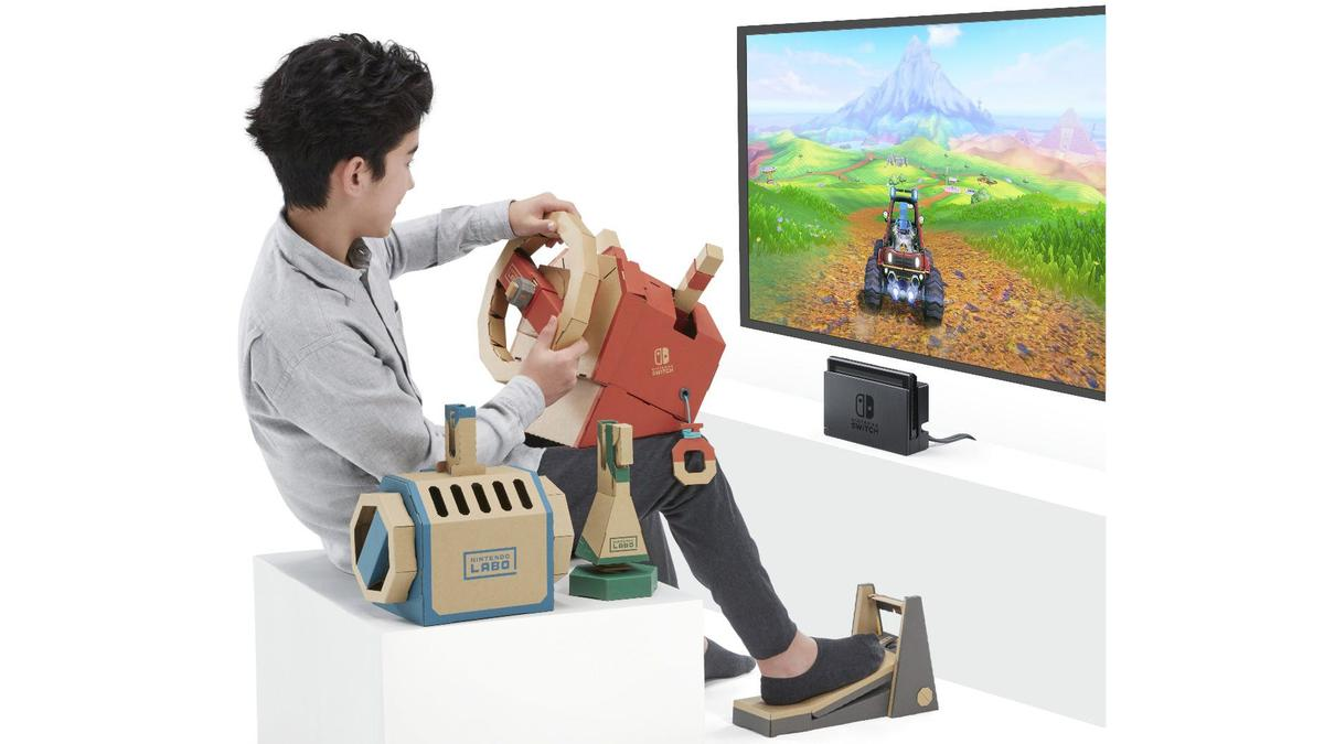 Nintendo has unveiled the Labo Vehicle Kit, which includes a car, submarine and plane