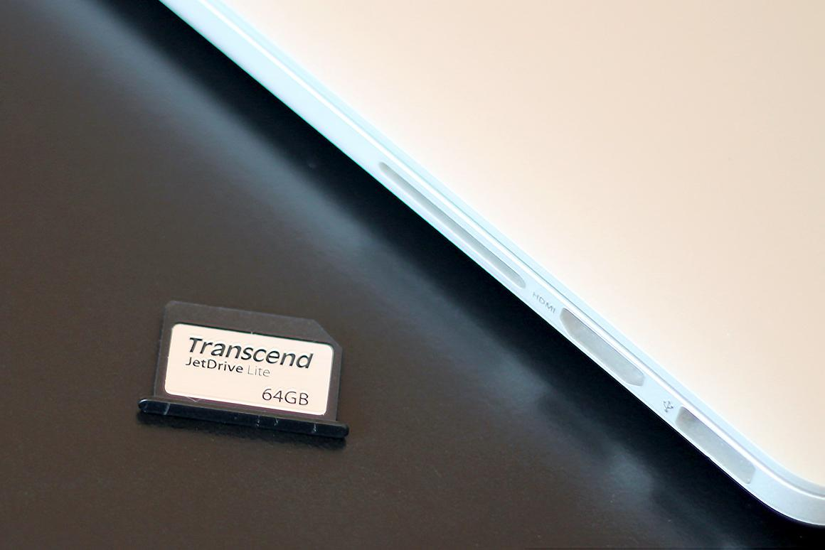 Review: Transcend JetDrive Lite