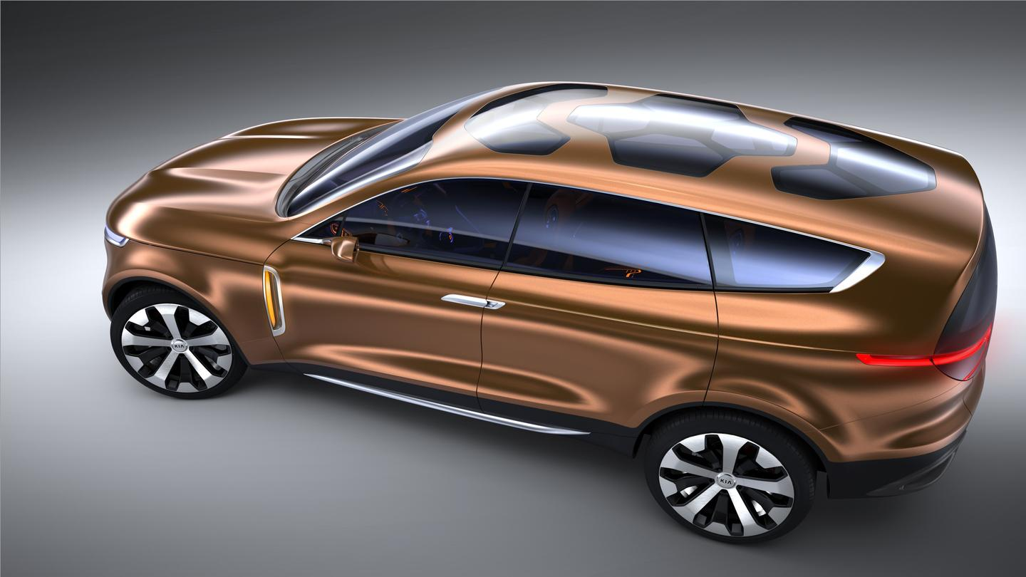 The Cross GT Concept CUV