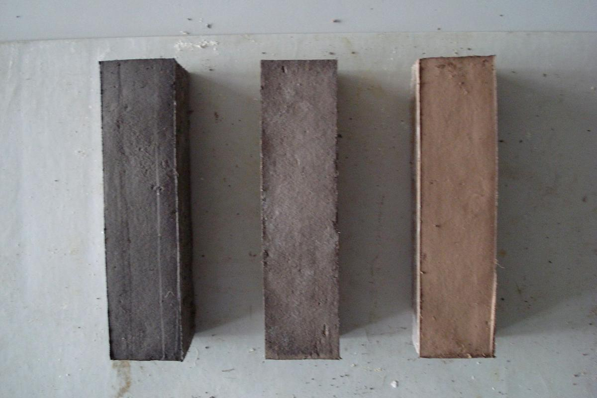 Bricks made for the Seville/Strathclyde study