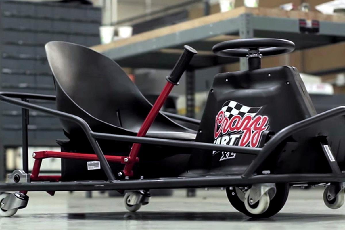Razor Announces Adult Sized Crazy Cart Drifting Go Cart