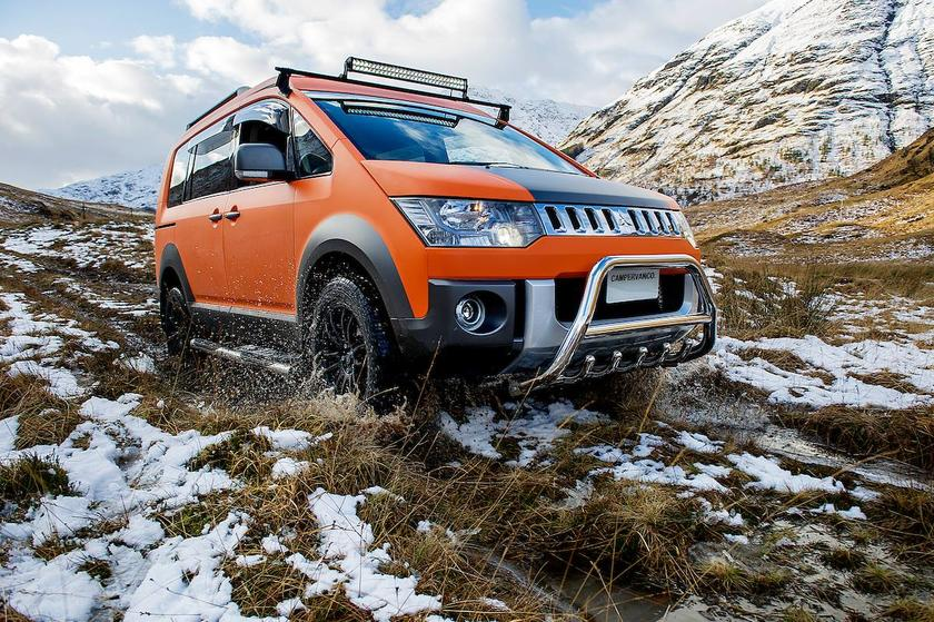 The D:5 Terrain makes short work of the mud, grass and snow of the Scottish Highlands