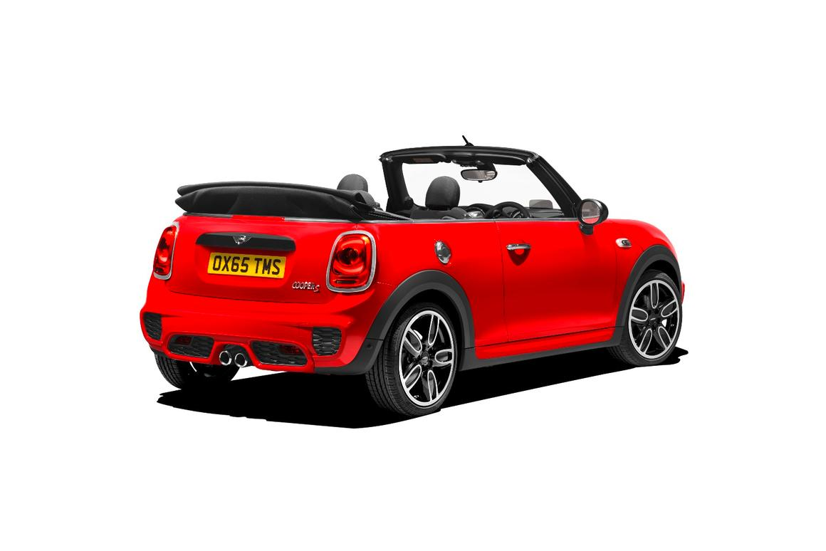 The Convertible Cooper S can be fitted with a John Cooper Works bodykit