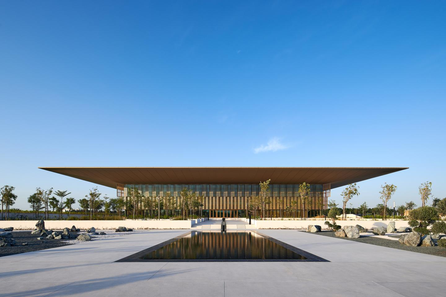 The House of Wisdom began construction in 2018 and was completed in late 2020 – it just recently opened its doors to visitors