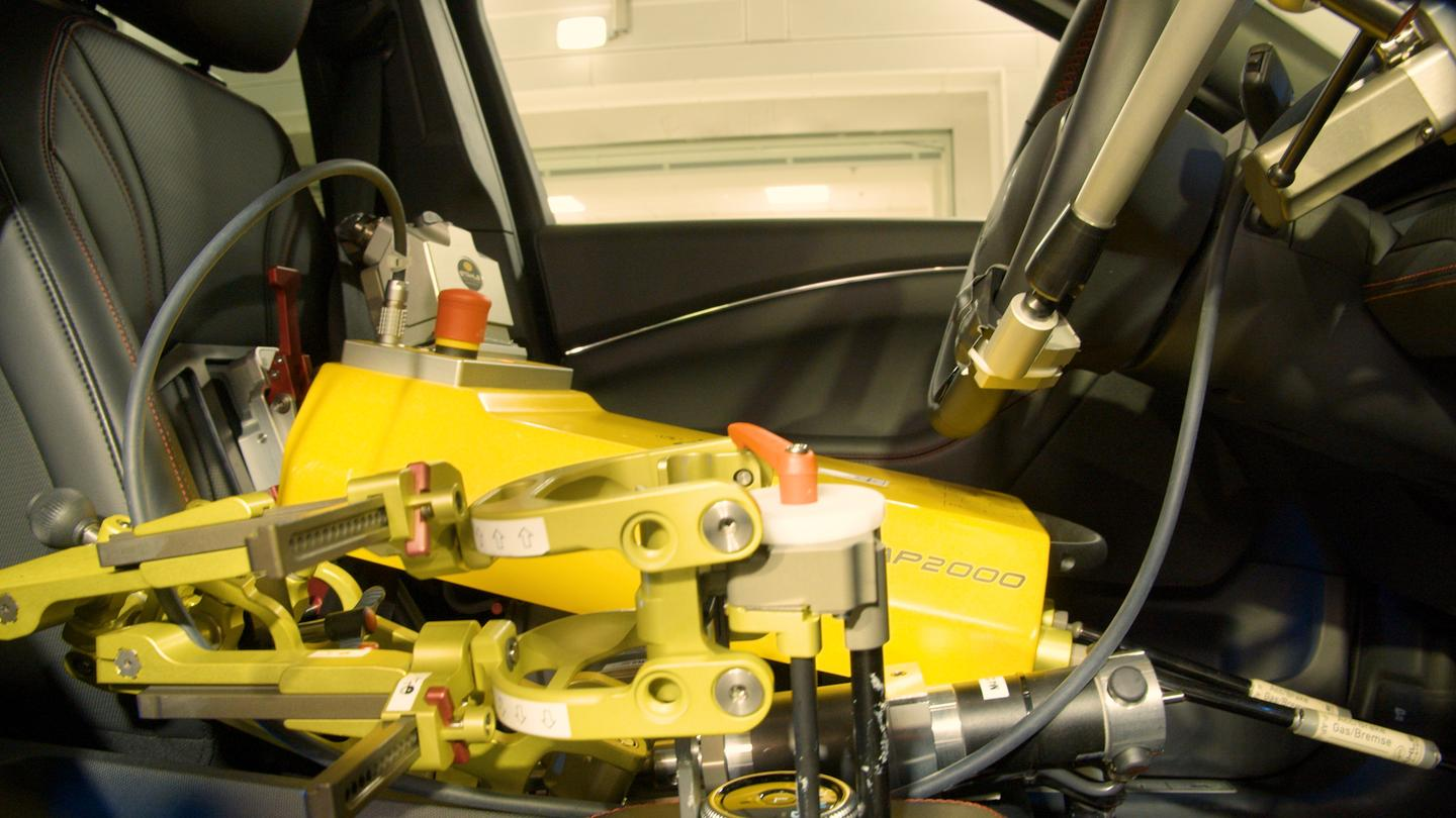 FOrd's new robot drivers can withstand extreme conditions