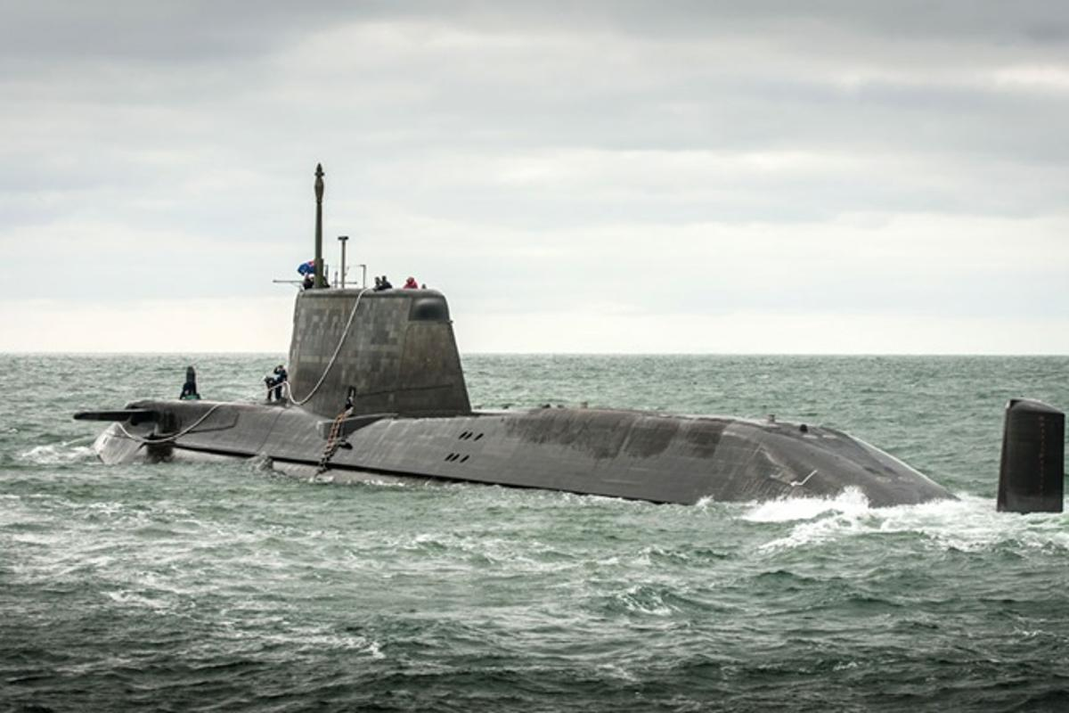 Astute Class submarines such as the HMS Ambush (above) will be retrofitted with the new tech (Photo: Royal Navy)