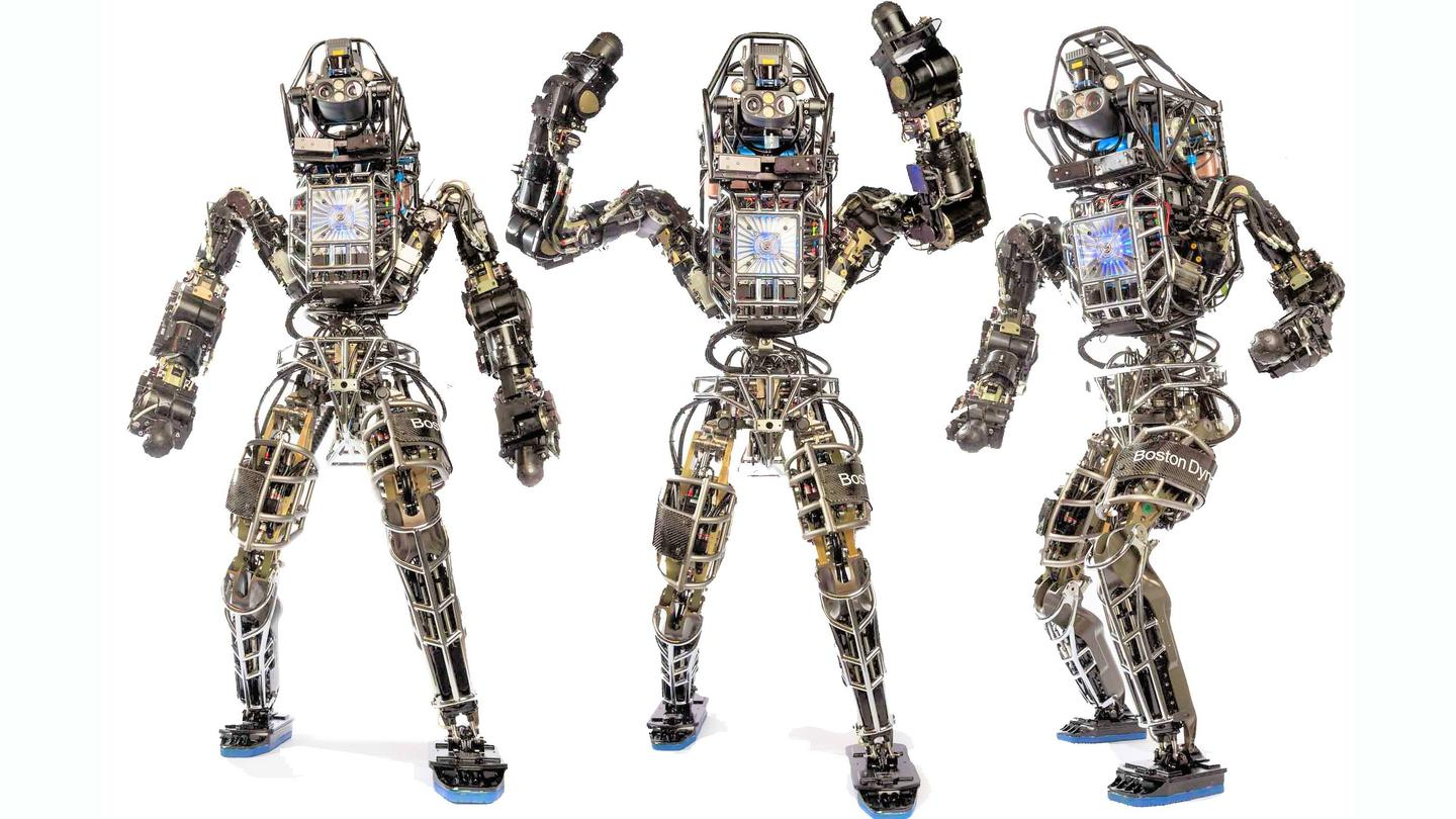 Boston Dynamics' Atlas humanoid robot is the focus for the second phase of DARPA's Robotics Challenge (Photo: Boston Dynamics)