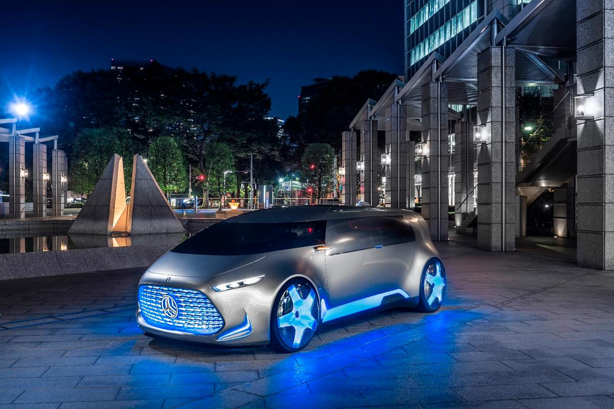 Mercedes-Benz Vision Tokyo: a vision of social commuting
