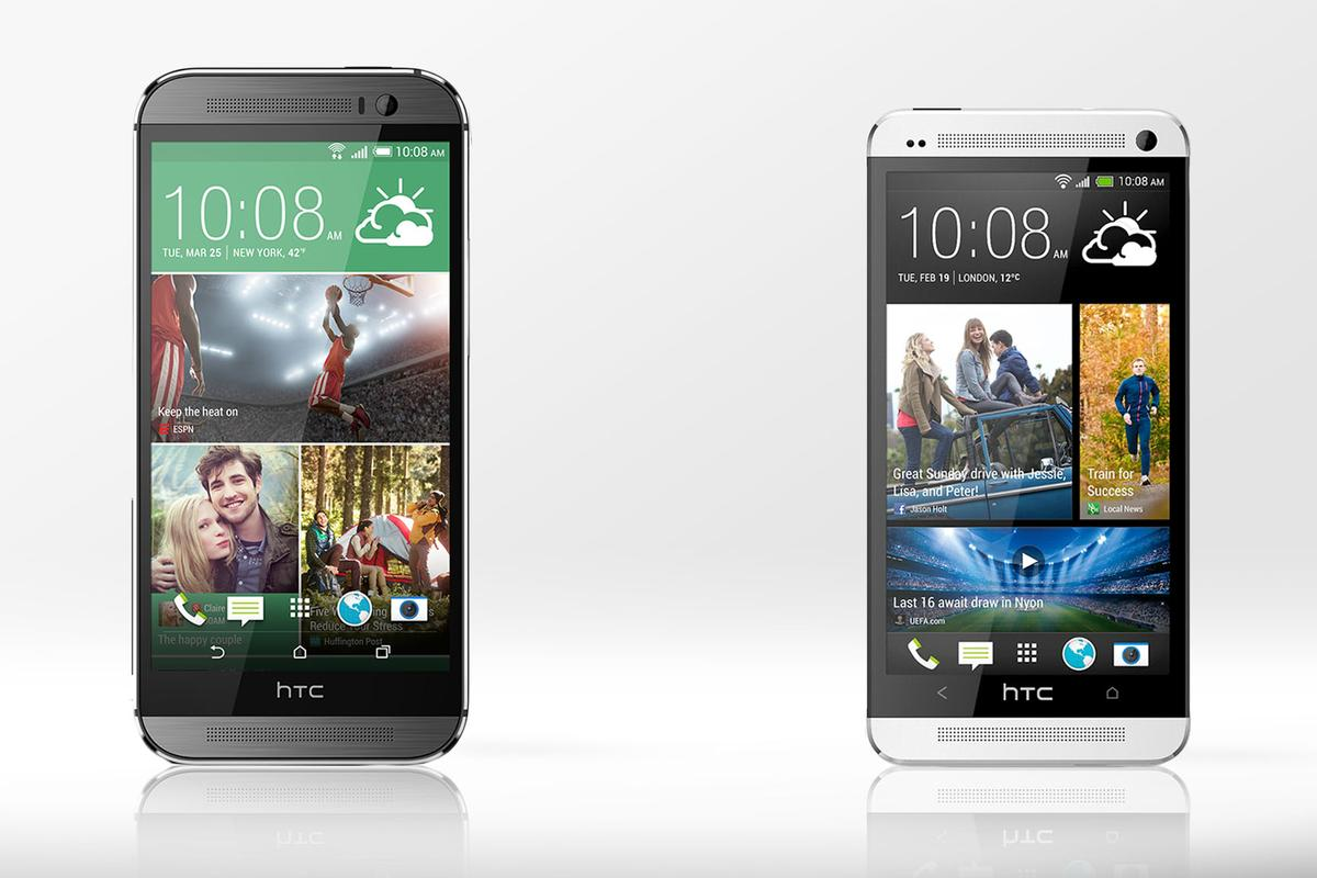 Gizmag compares the features and specs of the new HTC One (M8) and last year's HTC One (M7)