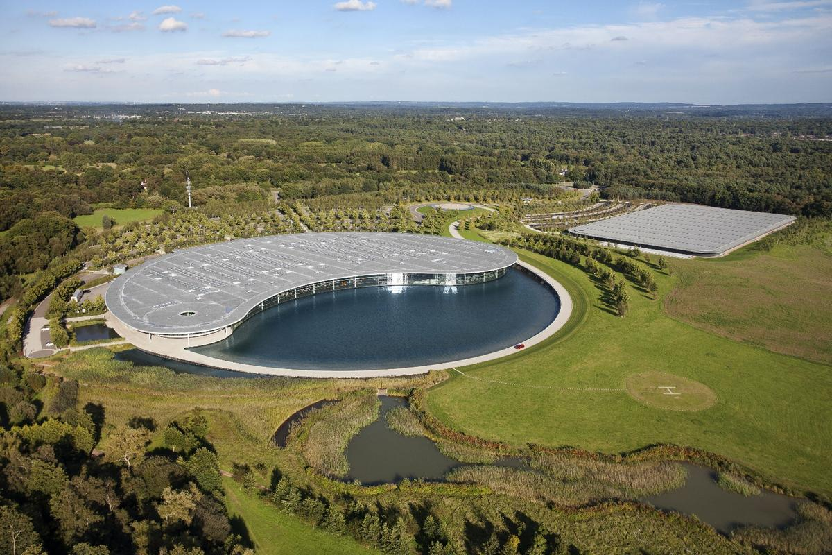 The McLaren Technology Center at Woking is a seriously impressive piece of design