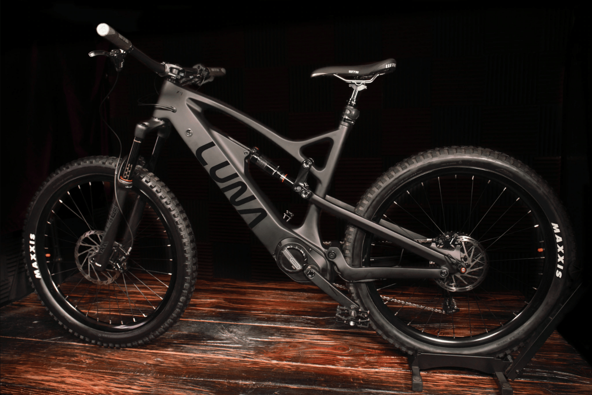 Tentatively called the X-1, the new Luna enduro beast looks like a monster