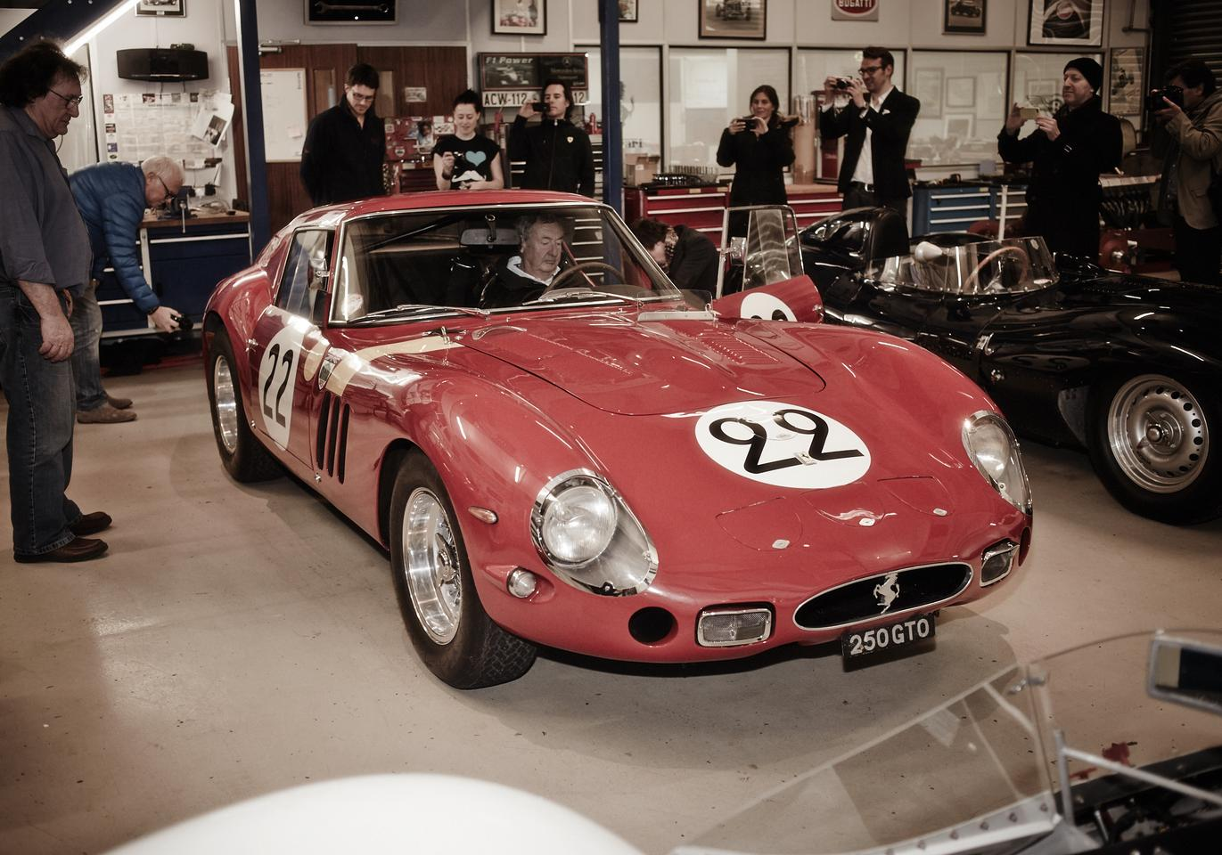 Nick Mason was originally known as the drummer in groundbreaking musical ensemble Pink Floyd. These days he's also well known for his automotive enthusiast status and as the owner of a Ferrari 250 GTO.