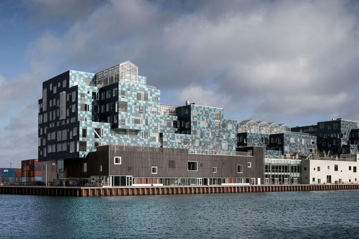 Copenhagen International School is located on a prominent site in Nordhavn harbor