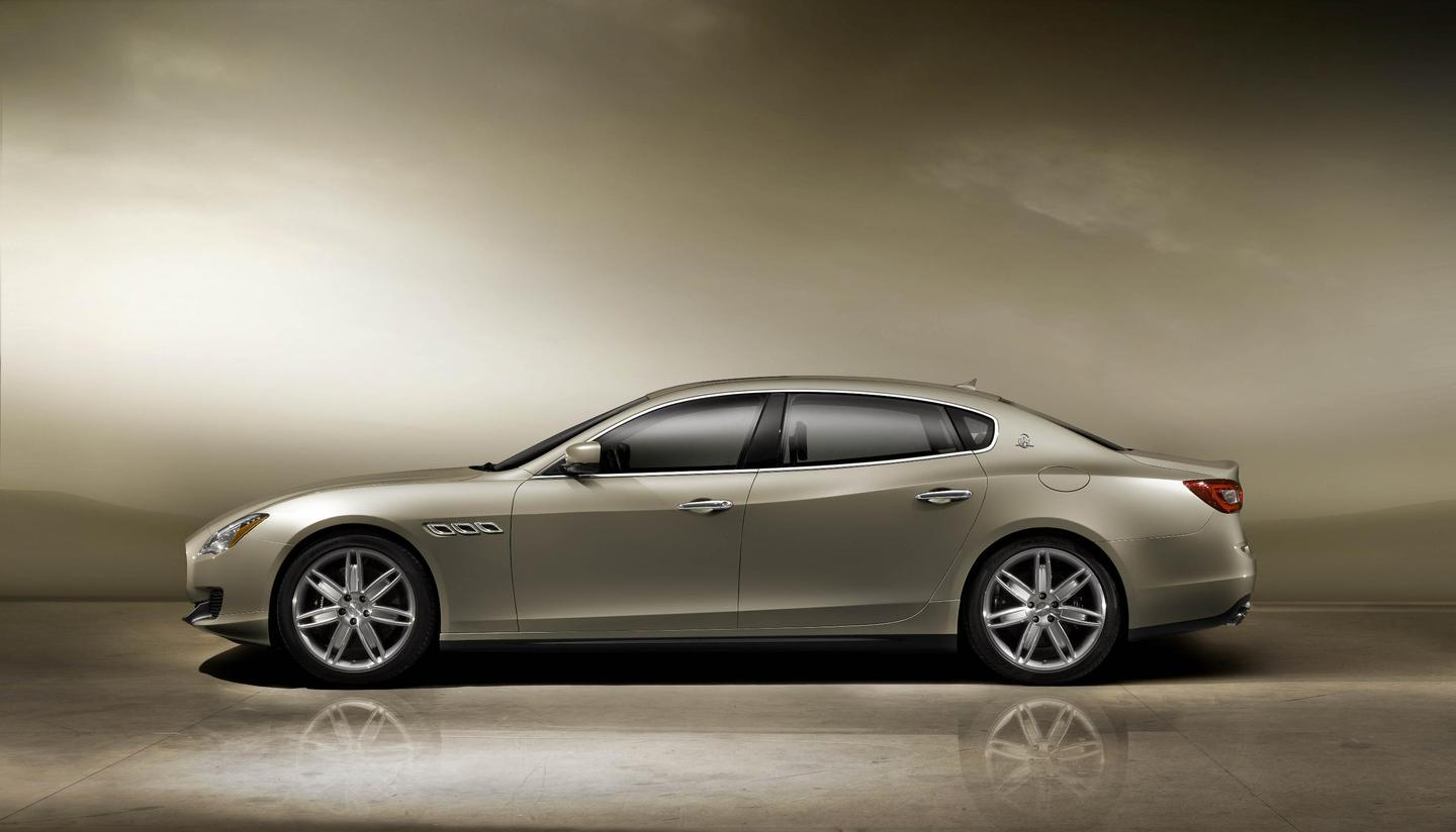 The 2014 Maserati Quattroporte