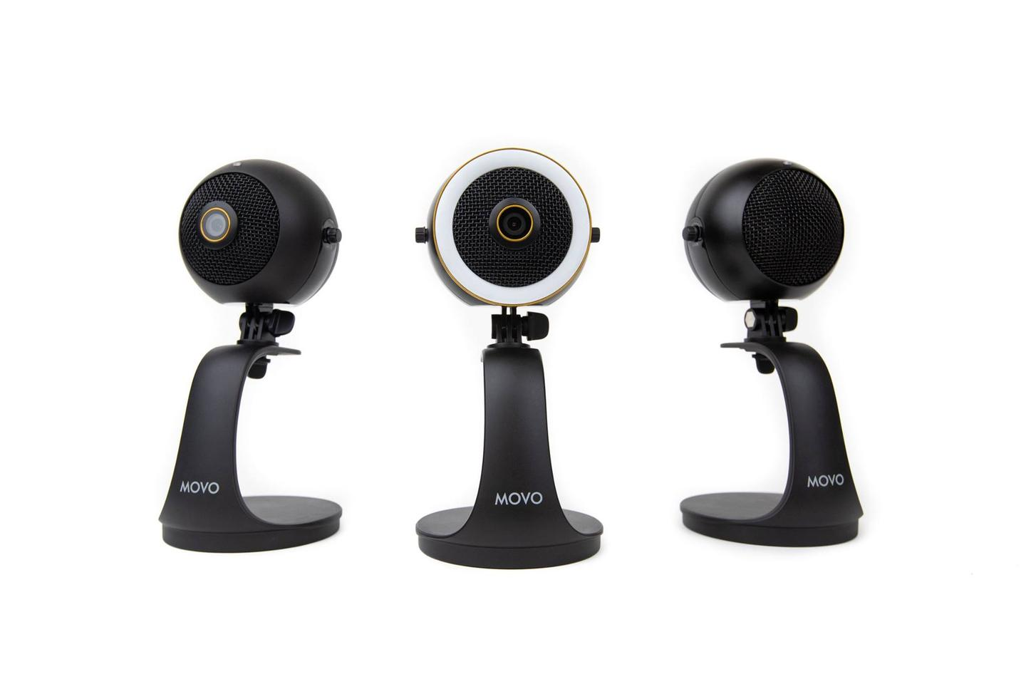 The WebMic family has camera/mic/lighting combos, webcam and mic options, and a solo microphone flavor