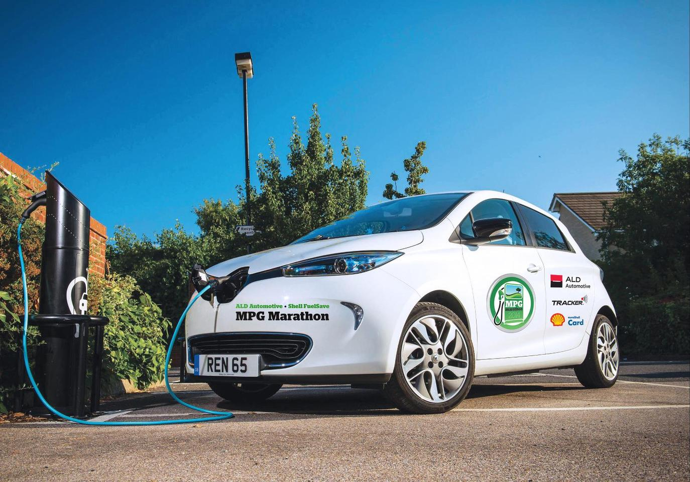 Pure electrics like the Renault Zoe will take part in the 2014 MPG Marathon