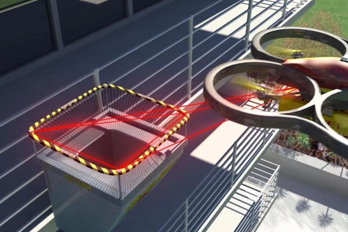 The Skynet concept offers a solution to the problems posed by drone delivery