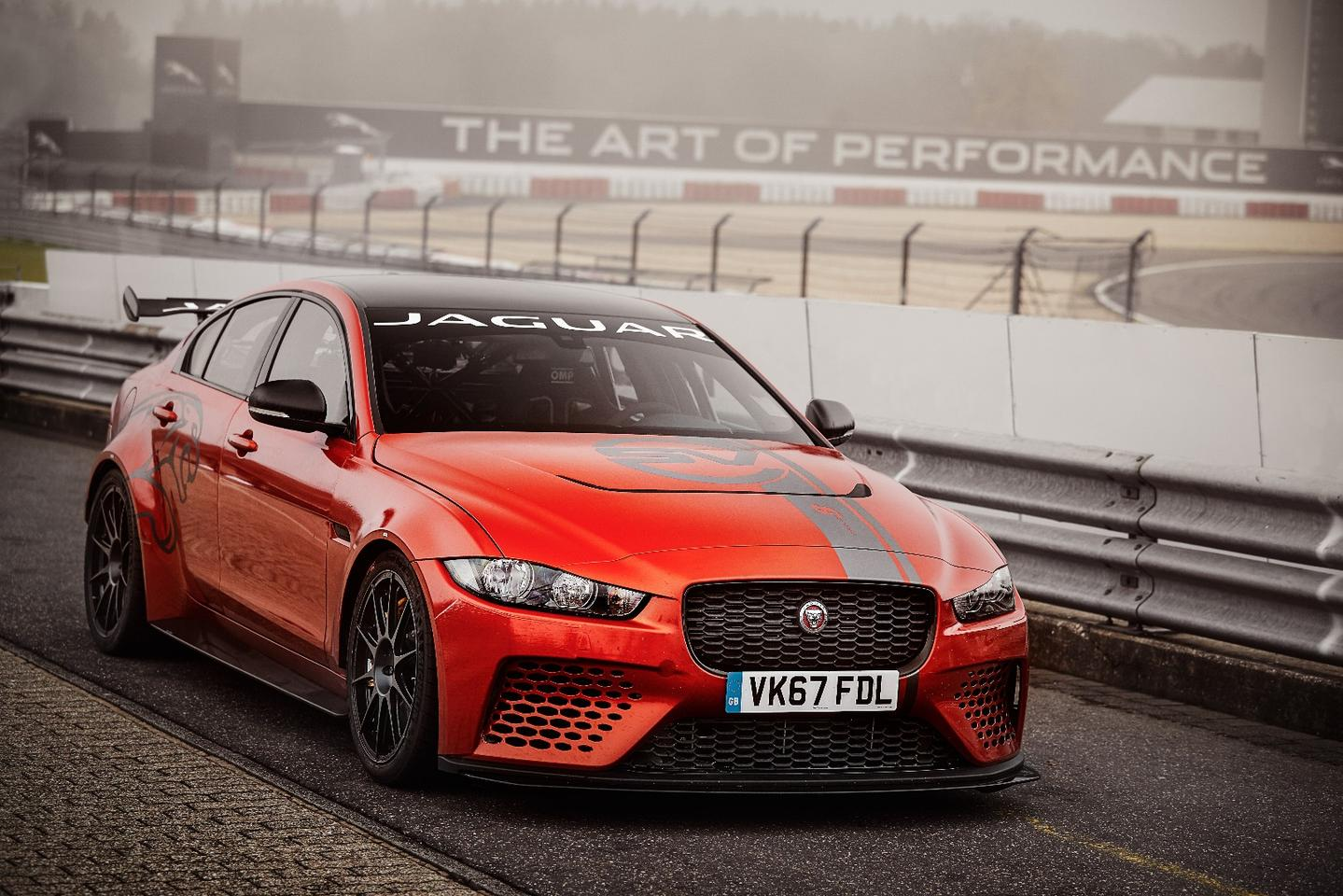 Revealed by Jaguar earlier in the year, the XE SV Project 8 is driven by the most powerful iteration of the company's 5.0-liter supercharged V8 we've seen