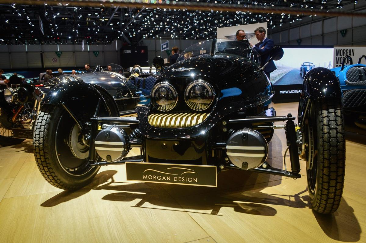 Morgan teams up with British department store Selfridges on a special-edition EV3