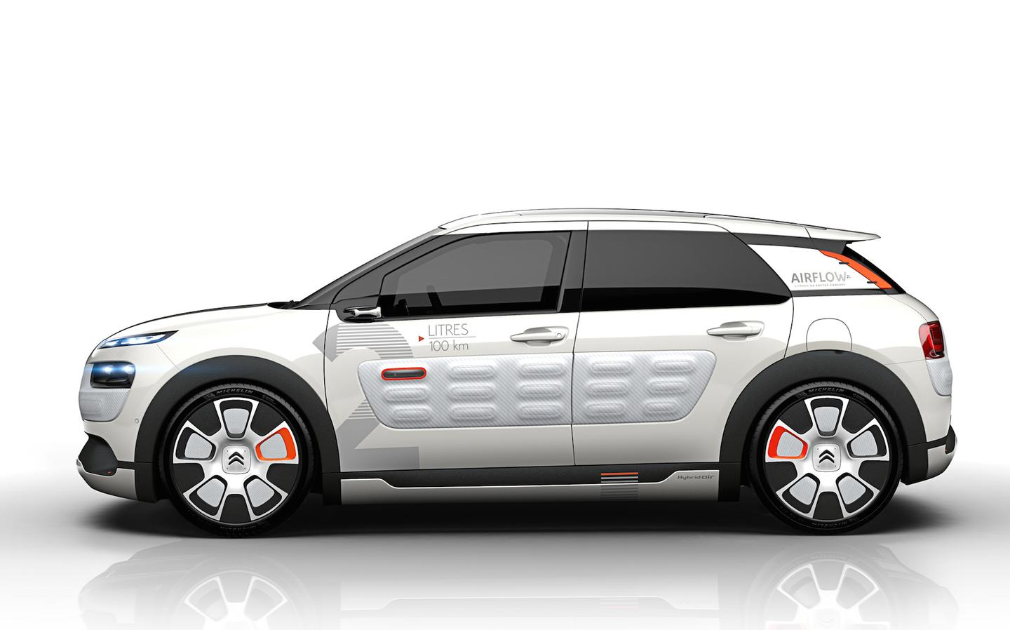 The C4 Cactus Airflow achieves 141 mpg