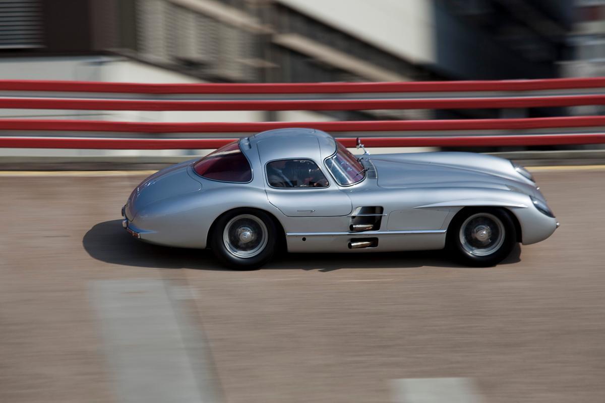 Only two Mercedes 300 SLR coupés were built