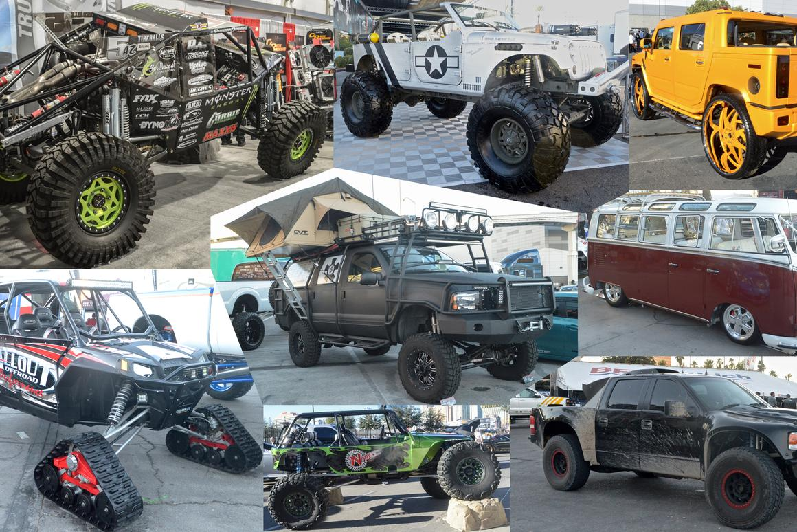 Rugged rides of SEMA Show 2014 (Photo: C.C. Weiss/Gizmag)