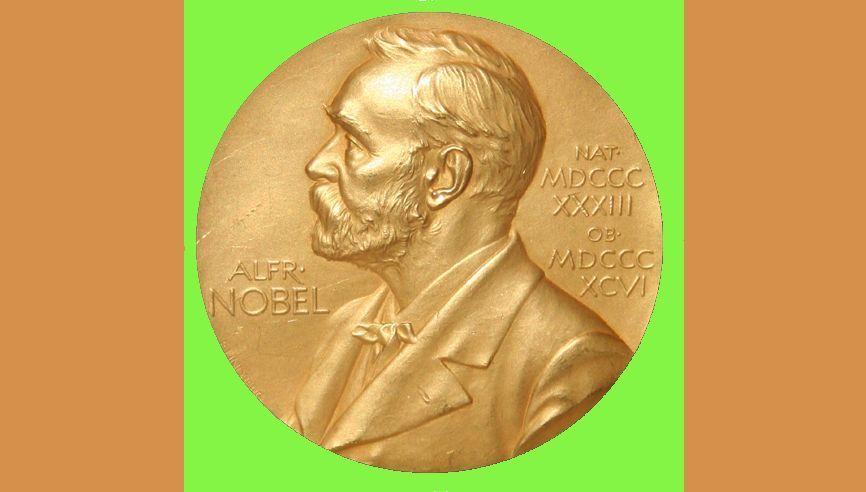 The Nobel Medal awaits Francois Englert and Peter Higgs, winners of the 2013 Nobel Prize in Physics (Photo: Jonathunder)